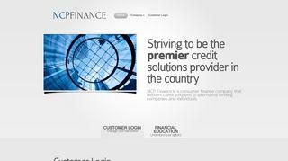 Ncp Finance Customer Portal
