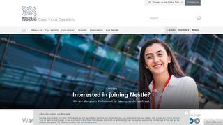 Nestle Job Portal
