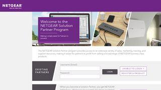 Netgear Partner Portal