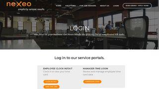 Nexeo Employee Portal
