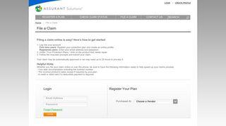 Nfm Assurant Customer Portal