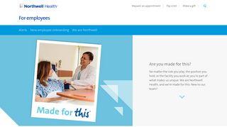 Northshore Employee Portal