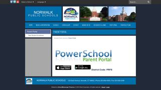 Norwalk Parent Portal