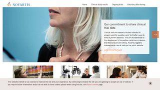 Novartis Clinical Trials Portal
