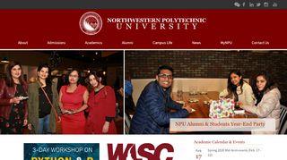 Npu Student Portal