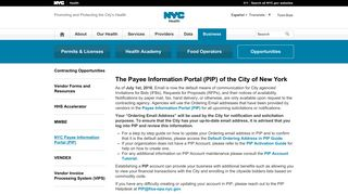 Nyc Payment Portal