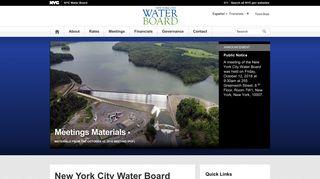 Nyc Water Board Login