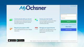 Ochsner Patient Portal