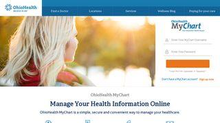 Ohio Health Patient Portal