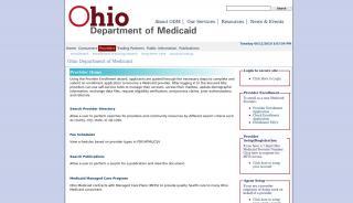 Ohio Medicaid Provider Portal