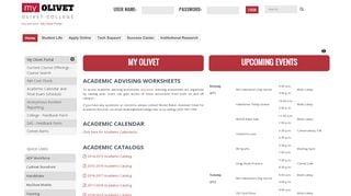 Olivet College Portal