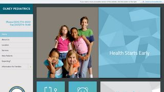 Olney Pediatrics Portal