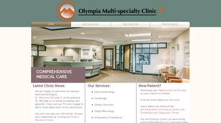 Olympia Multi Specialty Clinic Patient Portal