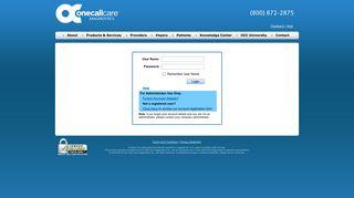 One Call Provider Portal
