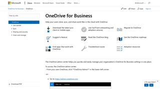 Onedrive For Business Admin Portal