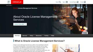 Oracle Lms Web Portal