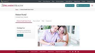 Orlando Health Patient Portal