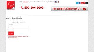 Page Publishing Author Portal