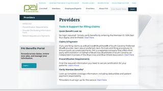 Pai Provider Portal