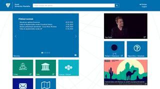 Palacky University Portal