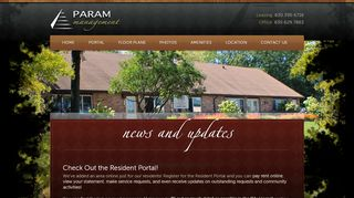 Param Apartments Resident Portal