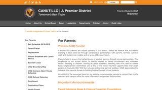 Parent Portal Cisd