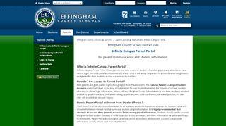Parent Portal Effingham