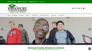 Parent Portal Emanuel County
