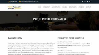 Parent Portal Point Pleasant
