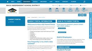 Parent Portal Wisd