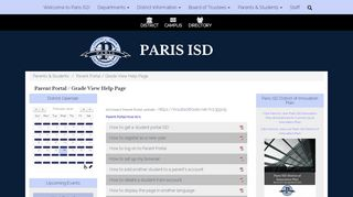 Paris Isd Parent Portal