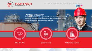 Partner Industrial Employee Portal