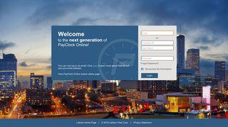 Payclock Employee Portal