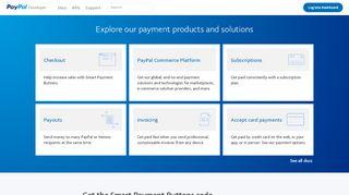 Paypal Developer Portal