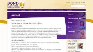 Pcrmc Bond Clinic Patient Portal