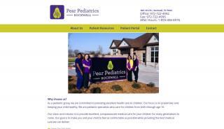 Pear Pediatrics Patient Portal