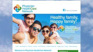 Physicians Healthcare Network Patient Portal