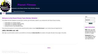 Planet Fitness Employee Portal