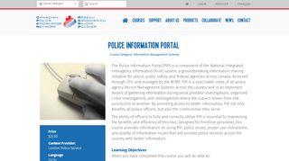 Police Information Portal