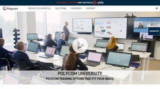 Polycom University Portal