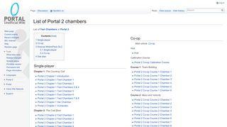 Portal 2 Chapter 7 Coop
