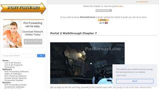 Portal 2 Chapter 7