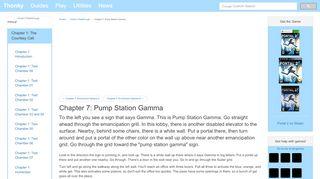Portal 2 Gamma Pump Station