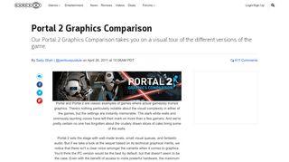 Portal 2 Graphics