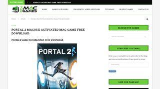 Portal 2 Mac Torrent