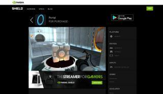 Portal 2 Nvidia Shield