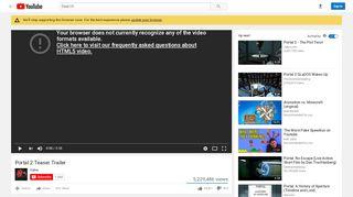 Portal 2 Trailer Valve