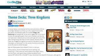 Portal 3 Kingdoms Starter Deck