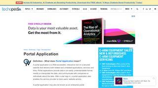 Portal Application Development