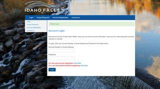 Portal Idahofallsidaho Gov